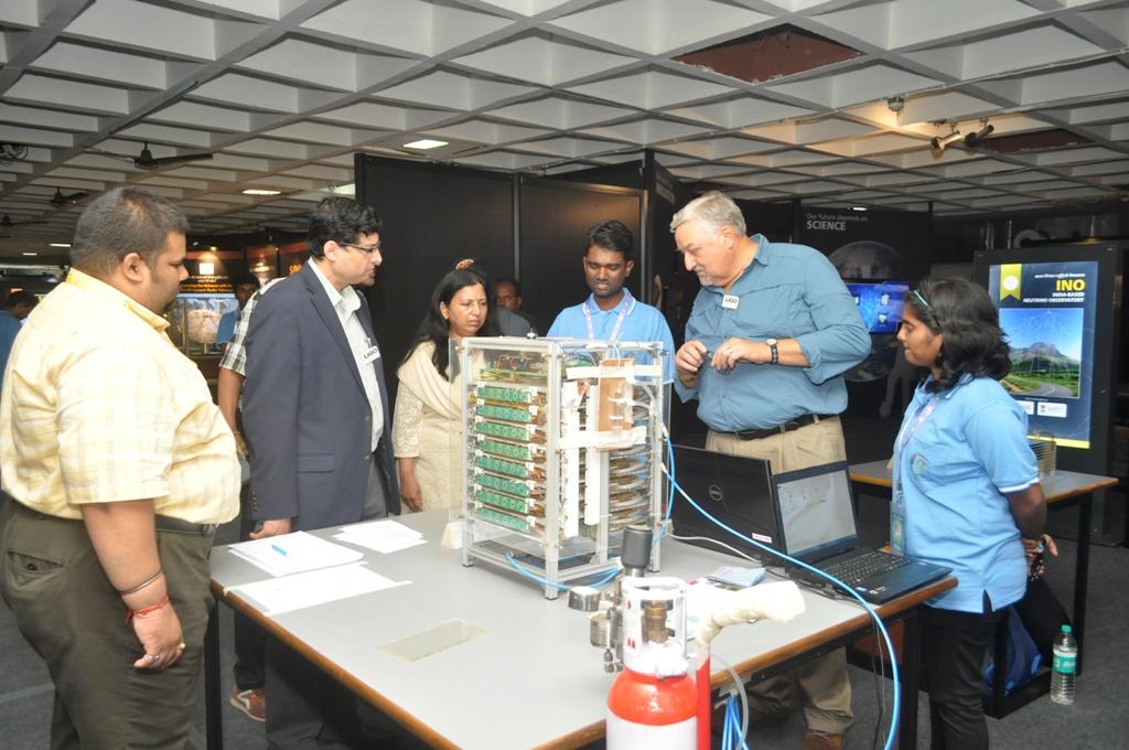 Prof. Frederick J. Raab visits Vigyan Samagam