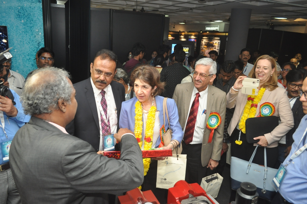 DG CERN Visits Vigyan Samagam