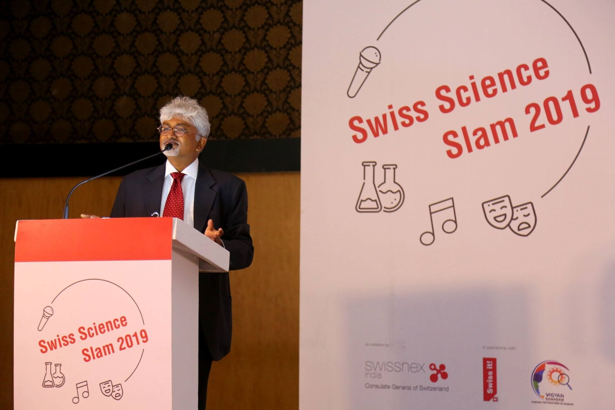 Swiss Science Slam Bengaluru